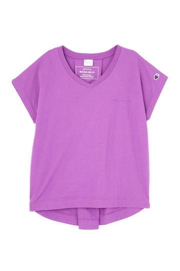 【先行予約 4月中旬-下旬入荷予定】【ROSE BUD別注】ChampionVネックTシャツ