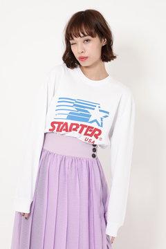 【ROSE BUD別注】ロゴロングスリーブTシャツ
