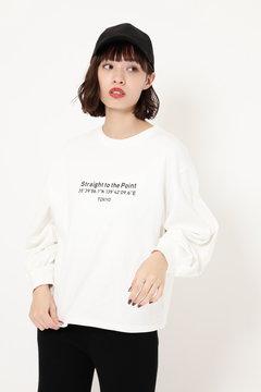 ロゴロングスリーブTシャツ