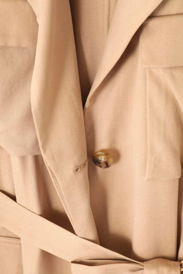 【先行予約 2月下旬-3月上旬入荷予定】ポケット付きテロンチコート