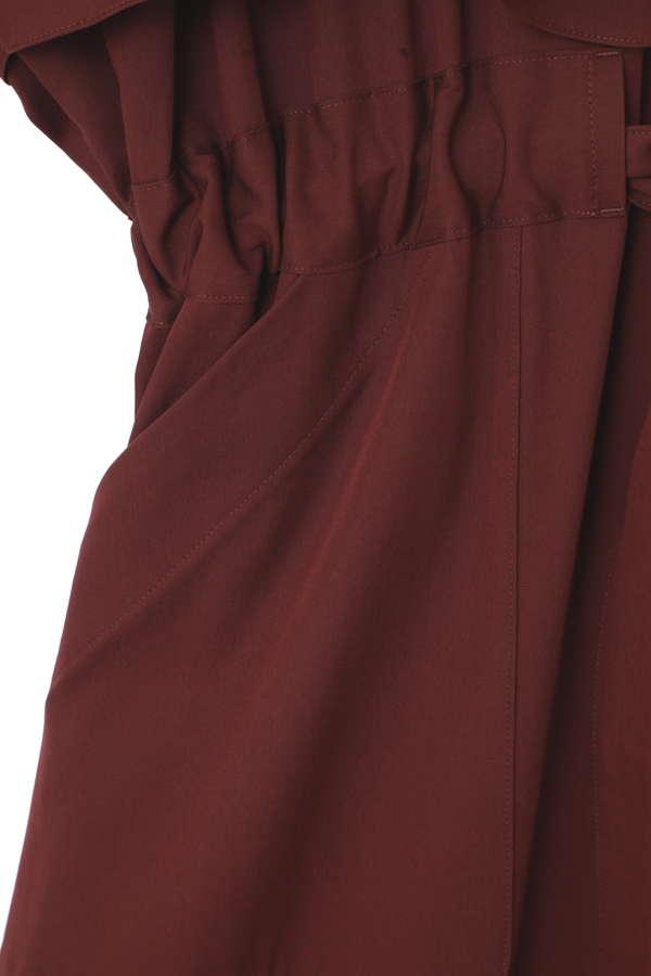 [SPRiNG3月号掲載]フード付きスプリングコート