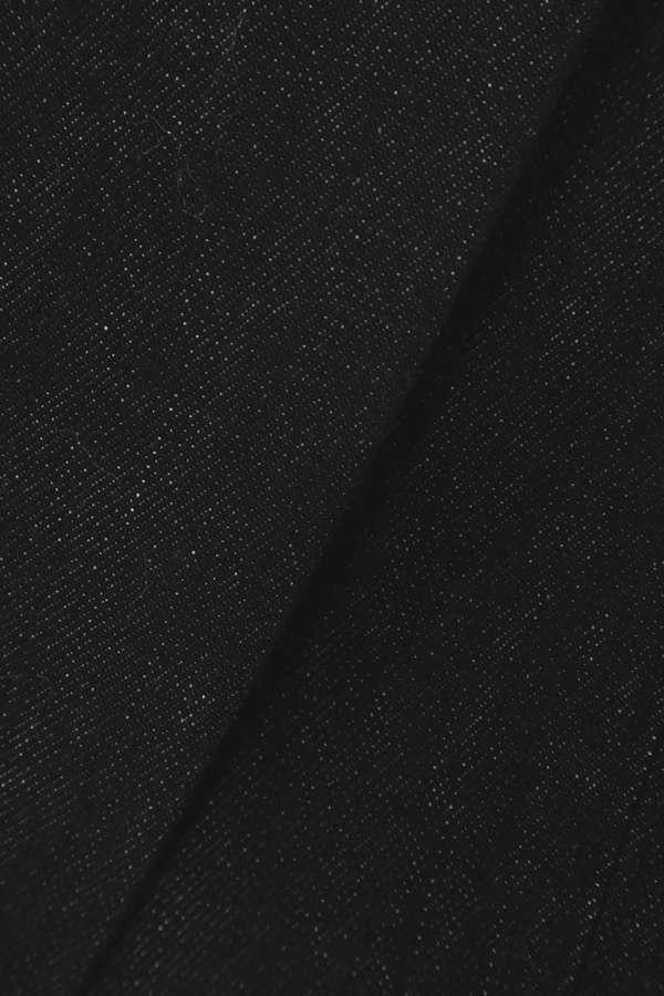 スカーフ付きデニムパンツ