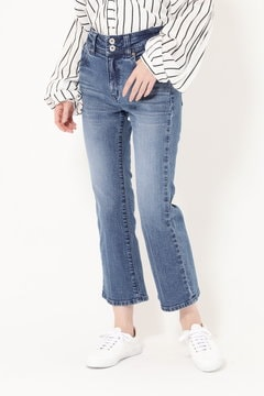STRETCH SEMI FLARE DENIM