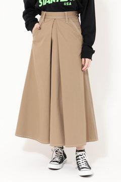 【先行予約 1月下旬-2月上旬入荷予定】【ROSE BUD別注】フロントタックロングスカート