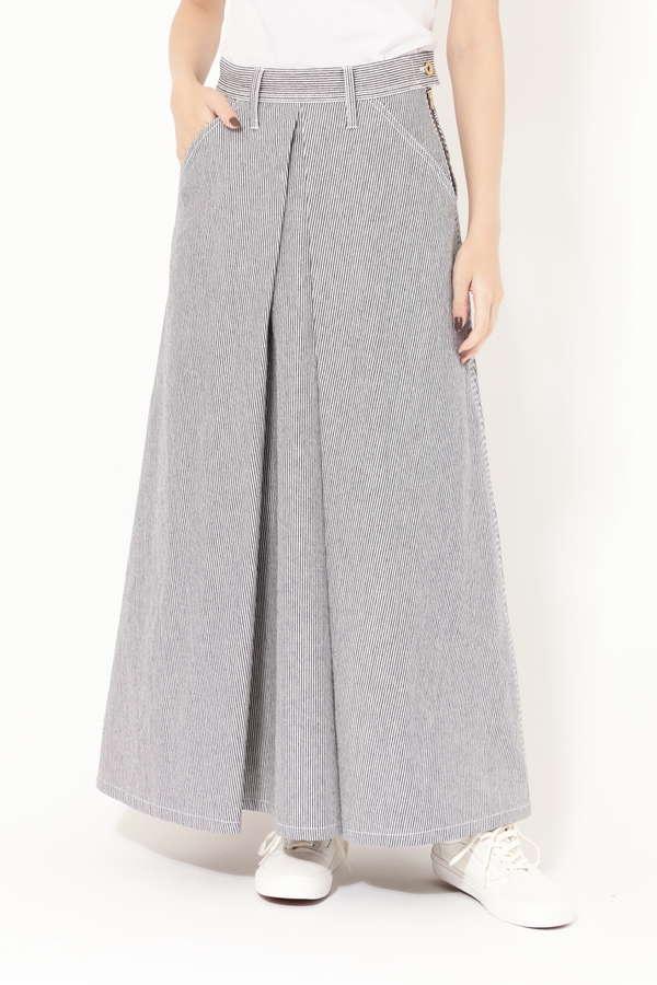 [ar2月号掲載]【ROSE BUD別注】フロントタックロングスカート