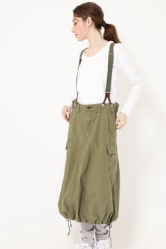 SUSPENDER CARGO SKIRT