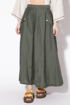 ドローストリングヘムスカート