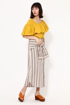 3WAYシャツスカート