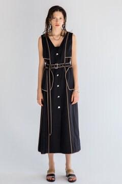 [7月号GISELe掲載]RAYON LINEN DRESS