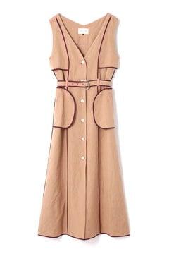 RAYON LINEN DRESS