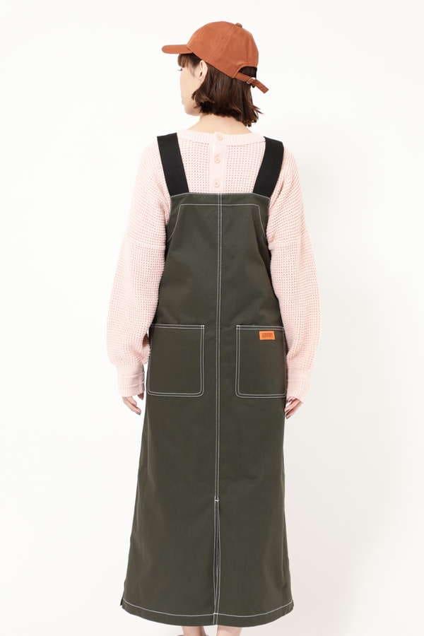 【ROSE BUD別注】ロングジャンパースカート