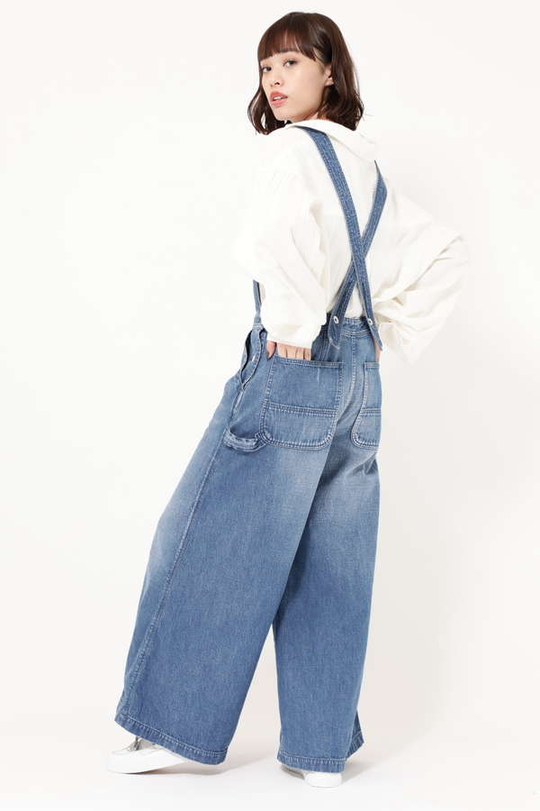 NEP DENIM WIDE LEG SAROPETTO