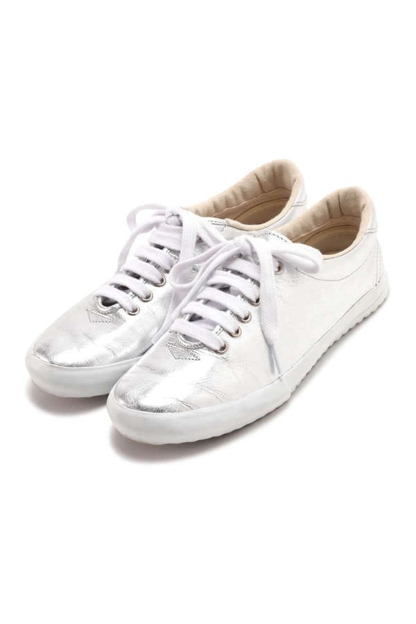 【maccheronian×GENE HEAVENS】SOFT LEATHER LACE UP SNEAKER