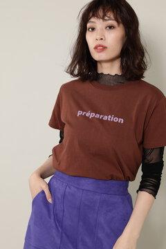 バレエプリントTシャツ