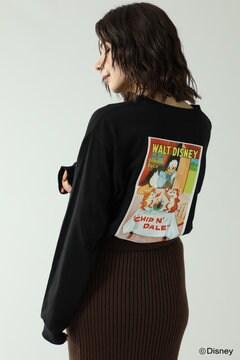 【先行予約 10月中旬-10月下旬入荷予定】ディズニーキャラクタープリントTシャツ