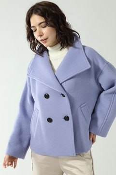ビックカラーショート丈コート