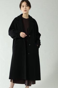 袖ボリュームウールコート