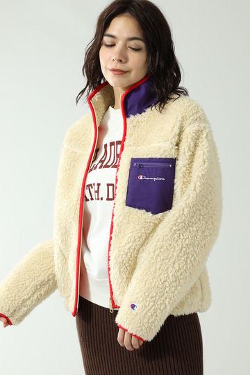 【ROSE BUD別注】チャンピオンボアブルゾンジャケット