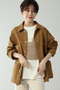 【先行予約 8月中旬-8月下旬入荷予定】【UNIVERSAL OVERALL for ROSE BUD】ビッグシャツジャケット