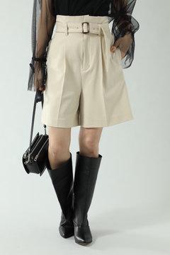 【先行予約 11月中旬-11月下旬入荷予定】ベルト付きショートパンツ