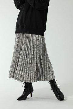 【先行予約 10月上旬-10月中旬入荷予定】ロング丈プリーツスカート