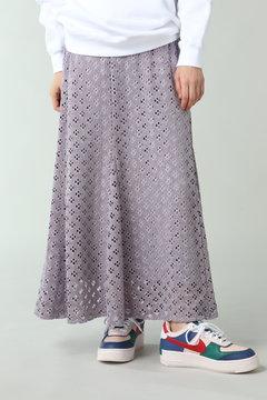 透かしナロースカート
