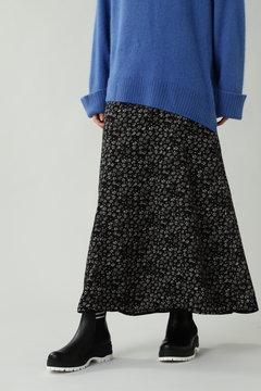 小柄ロングフレアスカート