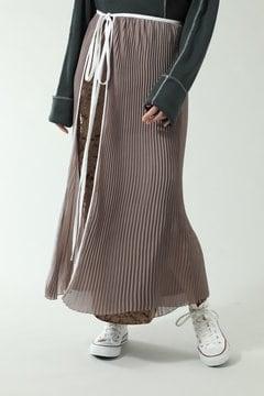 【先行予約 11月上旬-11月中旬入荷予定】ラッププリーツスカート