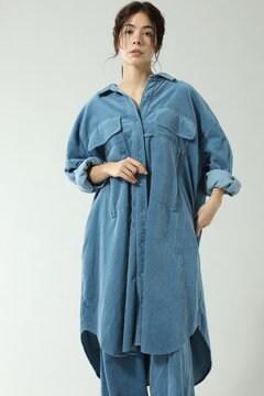 2WAY CORDUROY WORK POCKET SHIRTS DRESS