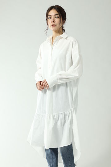 FRILLS  SHIRTS DRESS