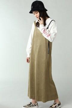 アシメトリージャンパースカート