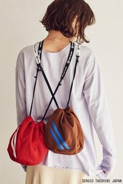 【SERGIO TACCHINI×CREOLME】巾著バッグ