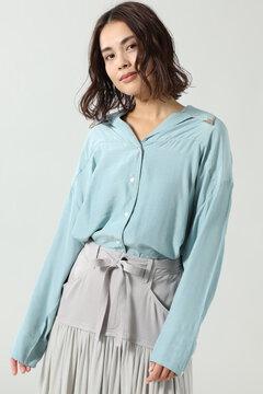 ウエスタンカラーチップシャツ