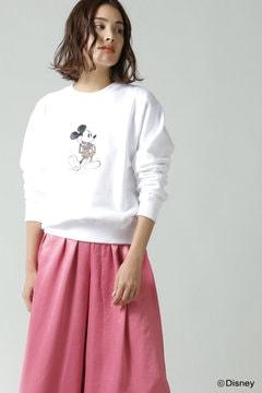 ディズニーキャラクターデザインスウェット