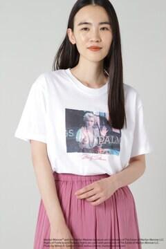 マリリンモンローフォトプリントTシャツ