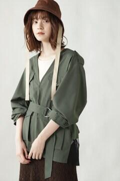 バックチュールシャツジャケットブルゾン