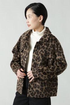 レオパード柄CPOジャケット