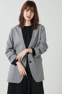 ノーカラージャケット