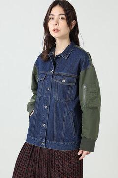 サードデニムMA-1ジャケット