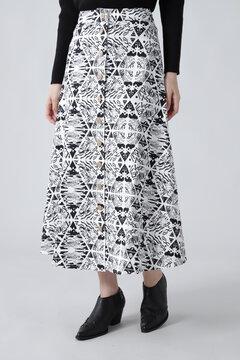 プリントスカート