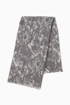 ペイズリープリントスカーフ