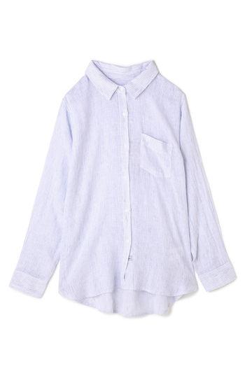 ピンストライプシャツ