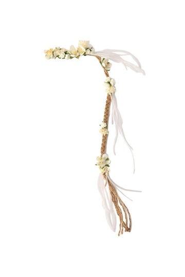 お花モチーフ付きコードヘアピン