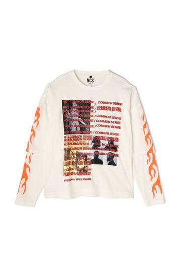 炎ロングTシャツ