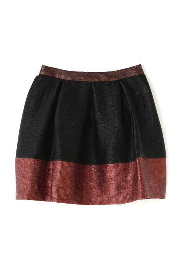 バイカラースカート