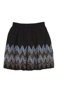 シェブロンストライプスカート