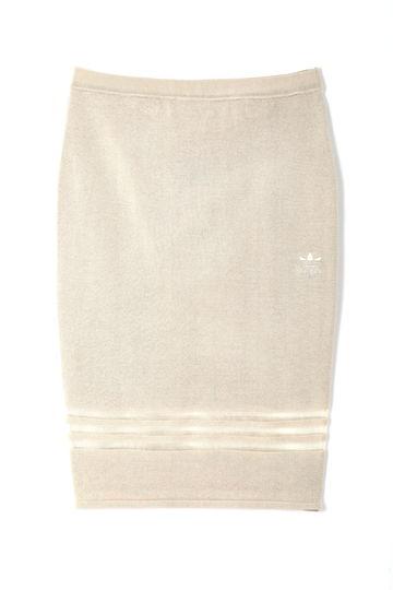 adidasニットスカート