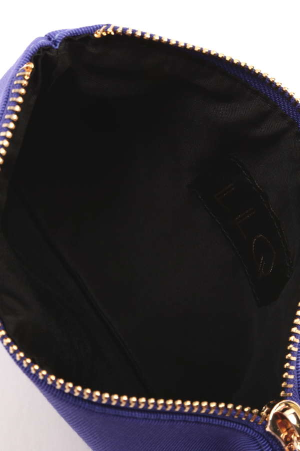 イニシャル×刺繍カラフルポーチ