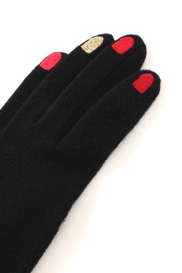 スター柄ネイル手袋