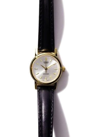 [GINZA1月号掲載]カシオ腕時計